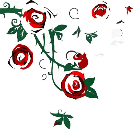 Clipart Roses Border border clip vector clip royalty free clipart best clipart best