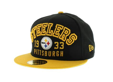 what are the steelers colors pittsburgh steelers wood knock 59fifty craniumfitteds