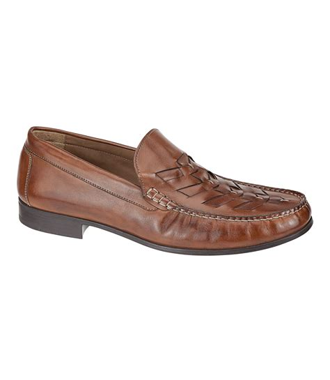 cresswell woven venetian shoe by johnston murphy