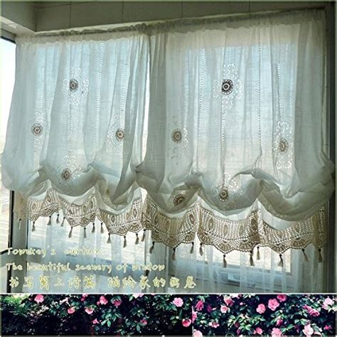 balloon curtains for bedroom pastoral style adjustable balloon living room curtain for