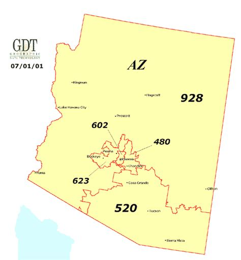 area code map arizona arizona moving companies