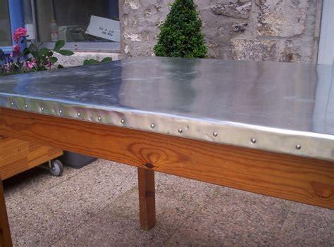 recouvrir table recouvrir table basse zinc ezooq