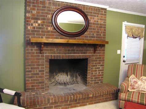 Traditional Brick Fireplace by Traditional Brick Fireplace Makeovers Brick Fireplace
