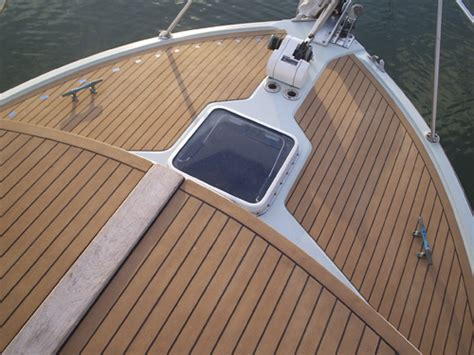 synthetic teak yacht decking pvc boat flooring flexiteek