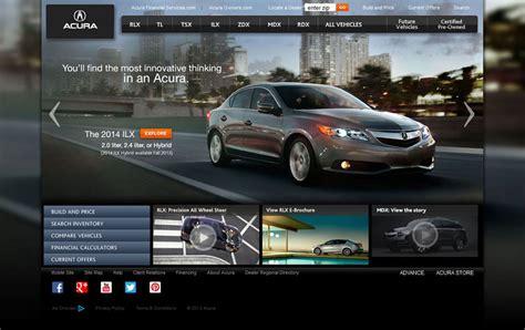 20 great car website designs for inspiration creativecrunk