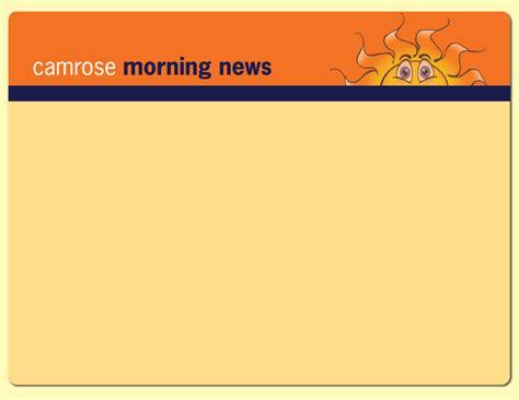 Morning News by Camrose Morning News
