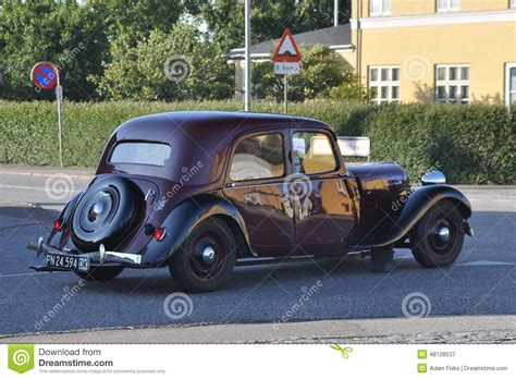 vintage citroen cars classic french car citroen driving editorial photography