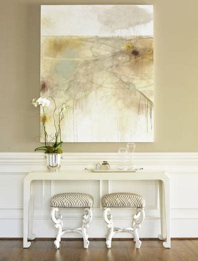 white wainscoting transitional entrance foyer hill interiors