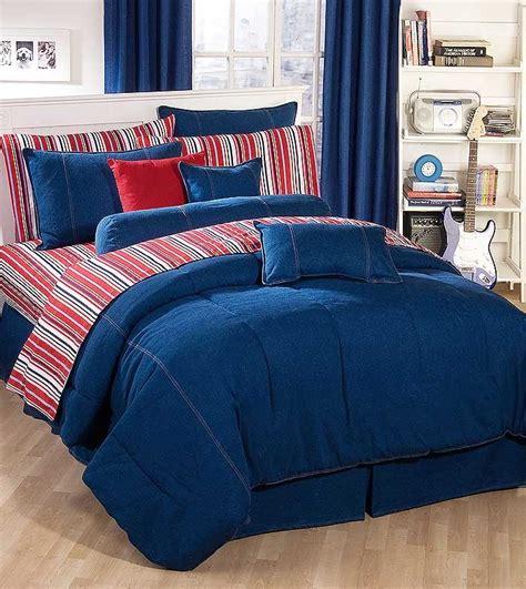 blue jean comforter american denim california king size duvet cover classic