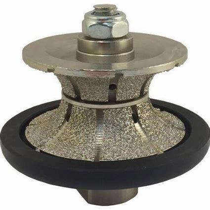 3cm v full bullnose vacuum brazed profiler bit, vac brazed