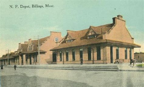 northern pacific depot billings montana