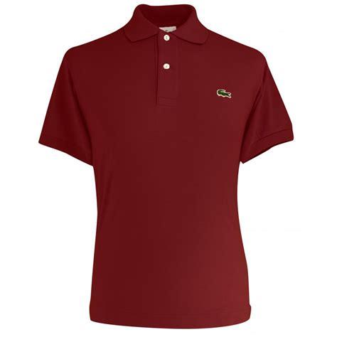 Polo Shirt Locoste lacoste plain original polo shirt lacoste from gibbs