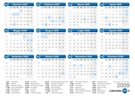 Calendario 2009 Agosto Calendario 2009