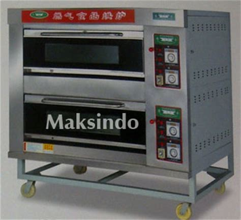 Oven Roti Gas jual mesin oven roti gas 1 loyang mks rs11 di yogyakarta toko mesin maksindo yogyakarta
