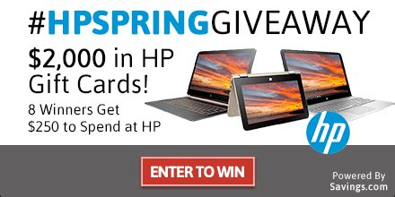 Hp Gift Card Discount - hp discount code 2016 and giveaway work money fun