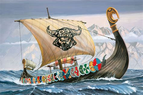 tattoo kit in elkaar zetten revell viking ship