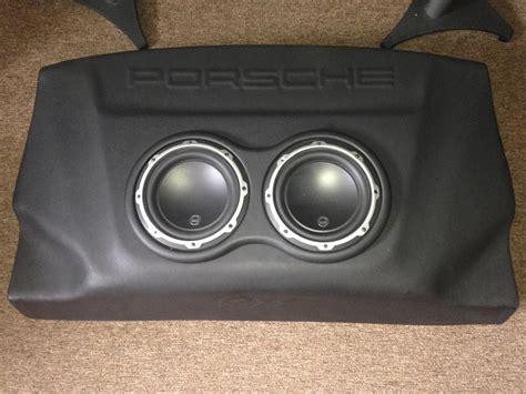 porsche 996 subwoofer 996 997 jl audio sub enclosure rennlist discussion forums