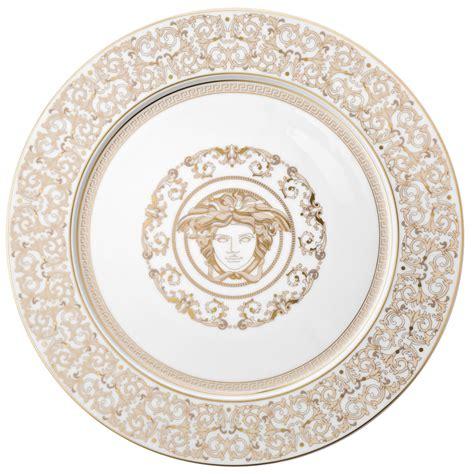 Versace Logo Plate Shopper by Versace Medusa Gala Service Plate 33 Cm Rosenthal