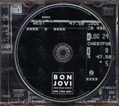 bon jovi one live 1985 2001 album cd records