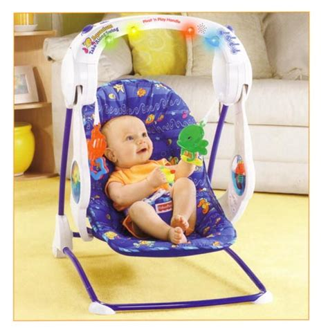 Acquario Fisher Price by Sdraietta Altalena Acquario Sempre Con Me Fisher Price