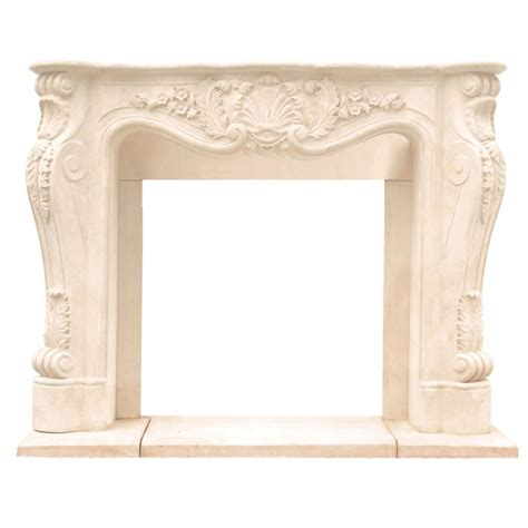 Fireplace Der Cl Home Depot by Historic Mantels Chateau Series Louis Xiii 48 In X 62 In