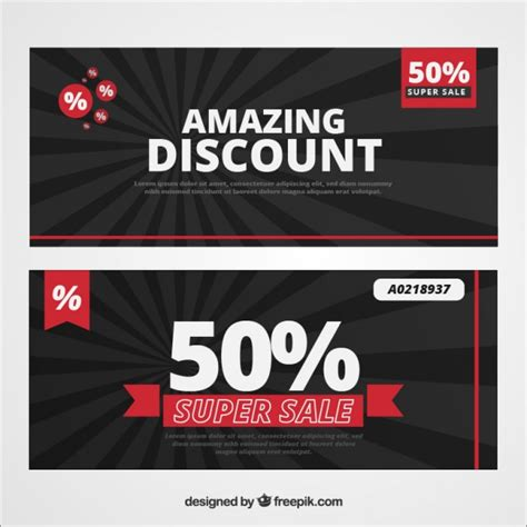 design banner discount amazing discount banners vector free download