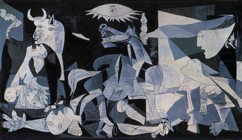 picasso paintings during civil war the impact of war guernica by pablo picasso