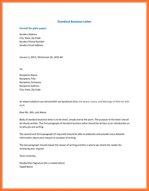 email format standard professional email format soap format