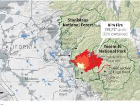 california wildfire map california map