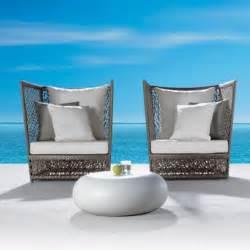 High Back Patio Chair Cushions Striking Modern Outdoor Furniture Hometone