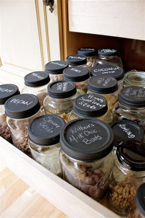 chalkboard paint jars chalkboard glass jars winter garden by whispermeblue