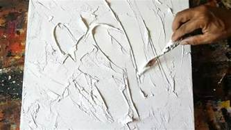 How To Texture Paint On Canvas - texture abstract how to gesso canvas texturing technique acrylic abstract painting youtube