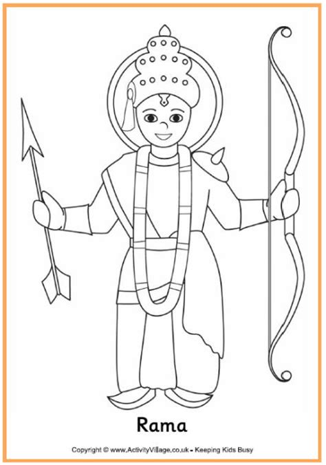 diwali puppets templates rama colouring page diwali colouring page diwali