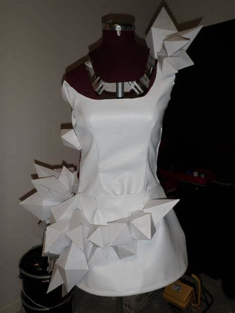 Origami Costume - gaga origami dress sewing projects burdastyle
