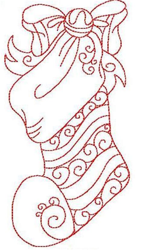 embroidery patterns for christmas stocking christmas stocking by stitchx embroidery pattern