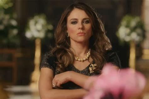Elizabeth Hurley Isnt Getting Any More Popular by Elizabeth Hurley Gets Royally Bitchy In The Royals Sneak