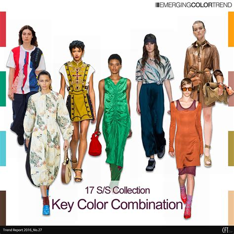S Collection no 27 2017 s s collection key color combination