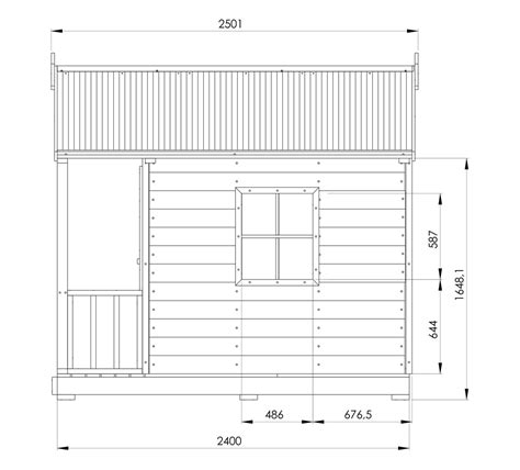 Plans For A Cubby House Snow Gum Cubby House Australian Made Backyard Playground Equipment Diy Kits