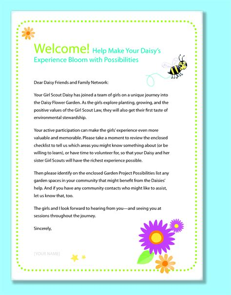 Introduction Letter Parents scout newsletter template introduction to