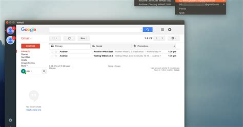 gmail themes free download windows desktop gmail client wmail 2 0 0 stable released web