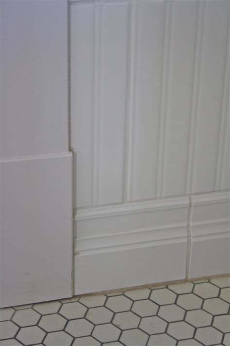 tile that looks like beadboard pin by lewis on great home ideas