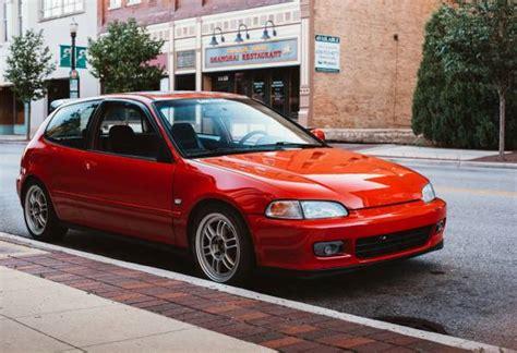 1994 honda civic hatchback auto restorationice honda