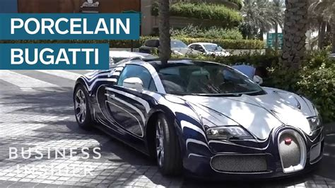bugatti made how bugatti made a car that s made entirely of porcelain