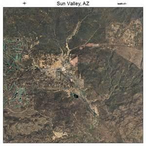 aerial photography map of sun valley az arizona