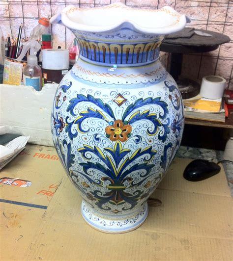 vaso deruta vaso ricco deruta classico ceramiche rinascita