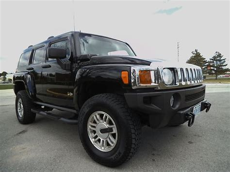 black hummer h3 for sale sell used black hummer h3 excellent condition in