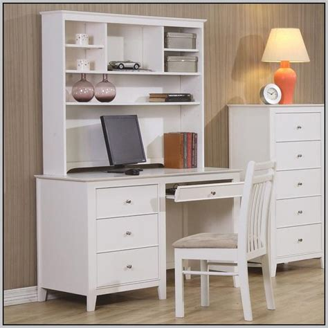 Computer Desk With Hutch White Desk Home Design Ideas White Desk With Hutch