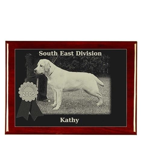 Handcrafted Plaques - custom photo pet plaque