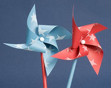 A Paper Pinwheel - how to make a paper pinwheel paper windmill