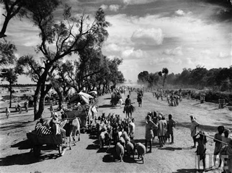 Partition Bengal Into Hindu And Muslim Sections by Mass Migration During Independence Of India In 1947 Part